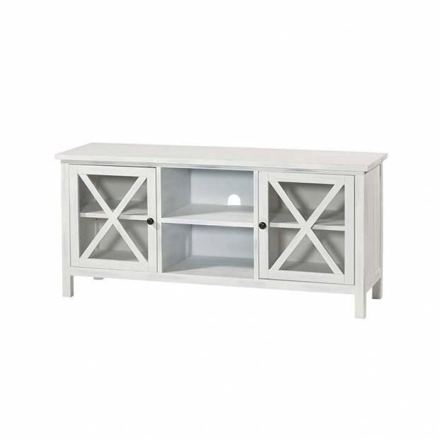 Mueble Tv Royal 140 Blanco Patinado